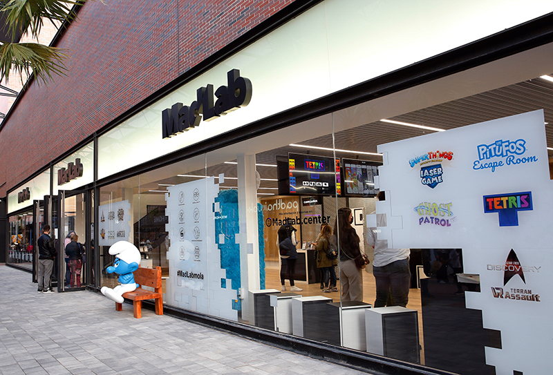 a Torre Outlet Zaragoza MadLab Lego Fan Factory noticias retail