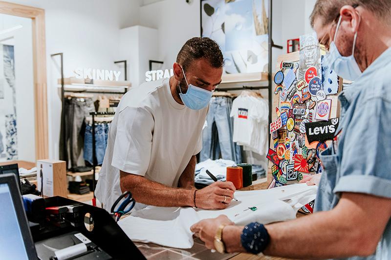 Levi's nuevo concepto tienda apertura L'Aljub Gonzalo Verdú noticias retail