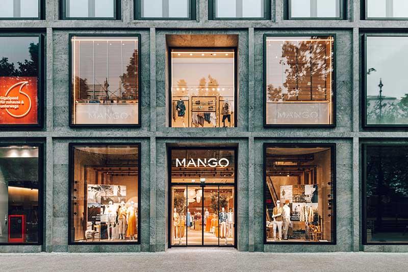 Mango flagship centro Berlín noticias retail