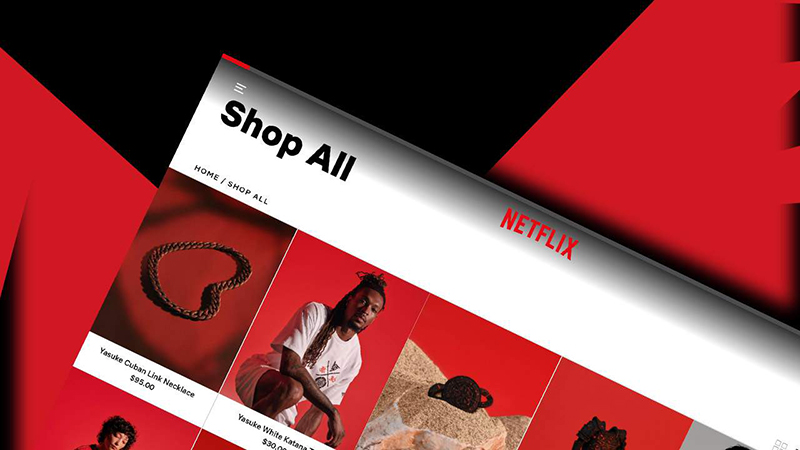 Netflix shop moda tienda online noticias retail