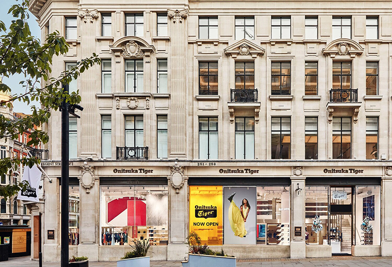 Onitsuka Tiger flagship Londres noticias retail