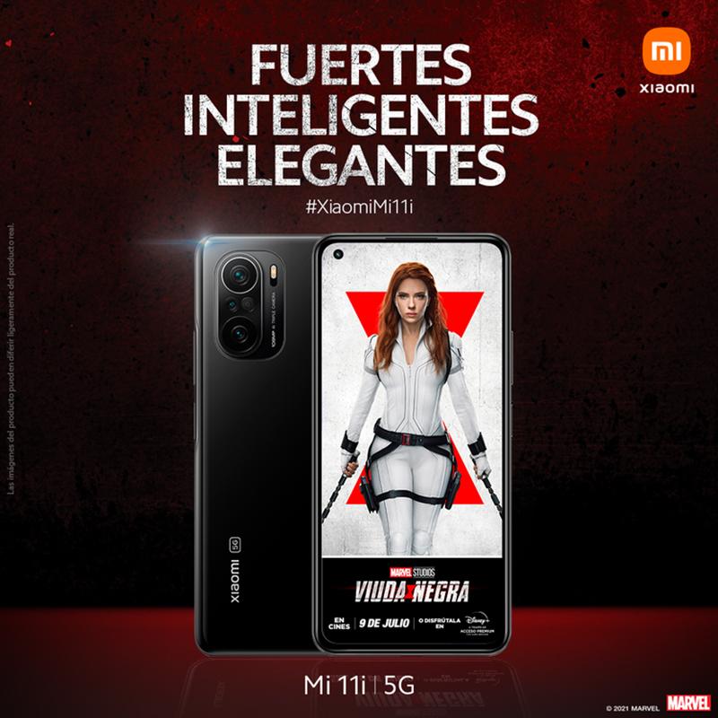 Xiaomi Marvel Viuda Negra promoción noticias retail