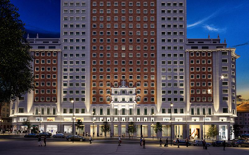 Zara, Zara Home y Stradivarius plaza de España Madrid noticias retail