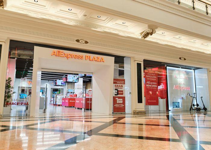 AliExpress Plaza Gran Via 2 noticias retail