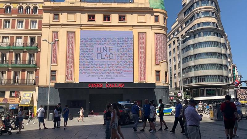 Callao City Lights movimiento 'One Flag' AliExpress noticias retail