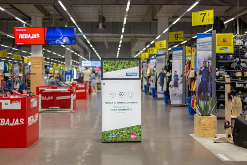 Decathlon proyecto segunda vida acuerdo colaboracion Moda Re- noticias retail