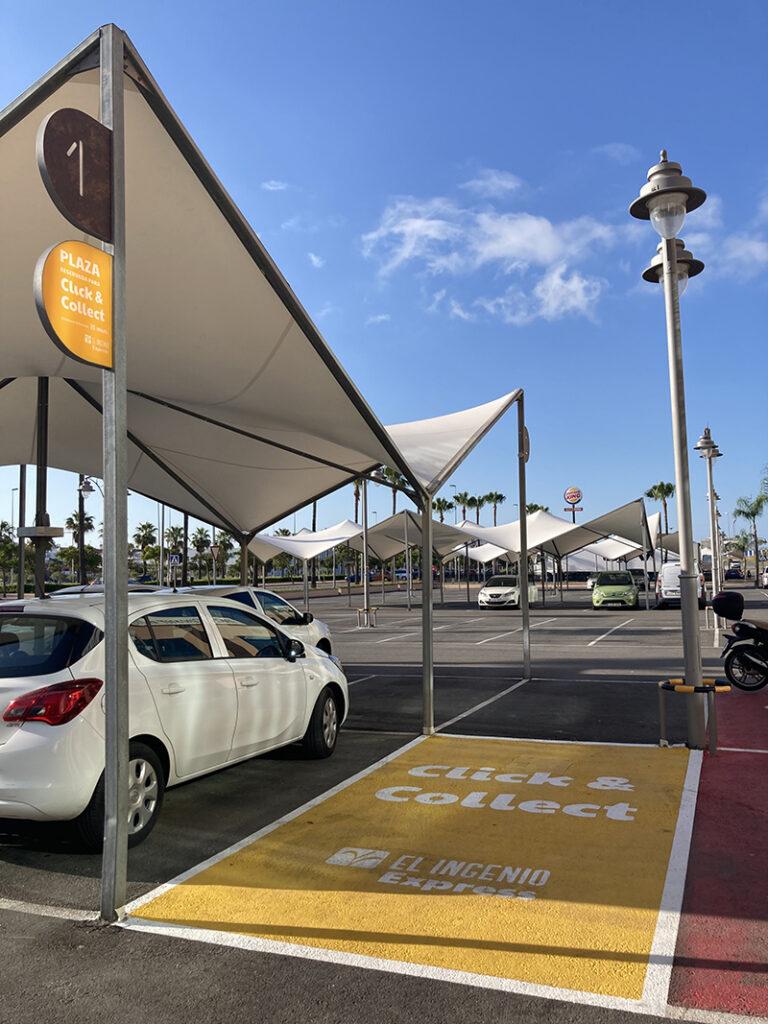 El Ingenio parking plazas click&collect inauguración noticias retail
