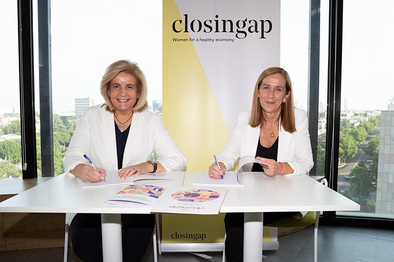 Fundación CEOE socio ClosinGap talento femenino igualdad oportunidades noticias retail