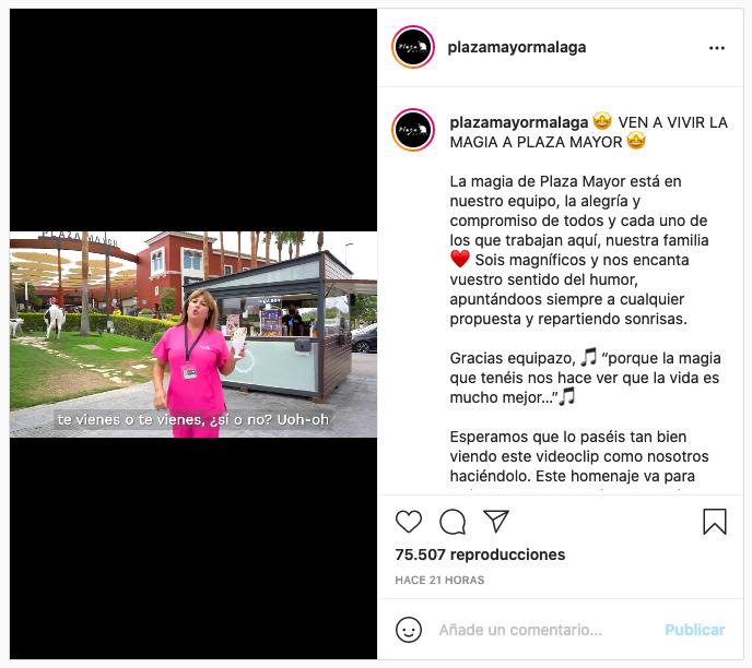 Instagram Plaza Mayor viral noticias retail