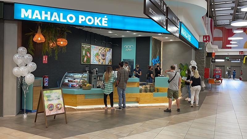 Mahalo Poké aperturas restauración noticias retail