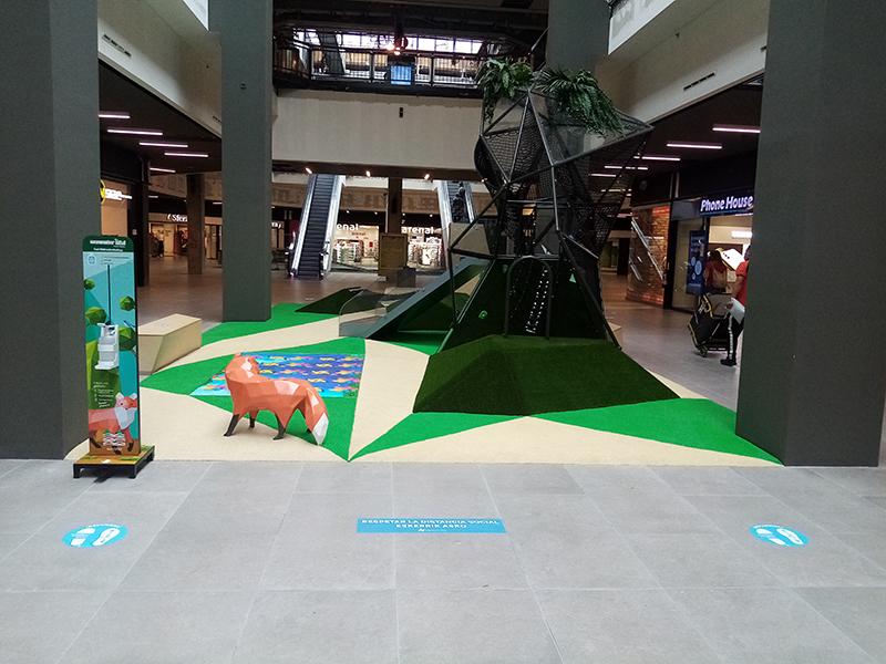 Max Center playground área de juego zonas interactivas noticias retail