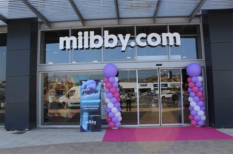 Milbby Torrecárdenas apertura creatividad manualidades noticias retail