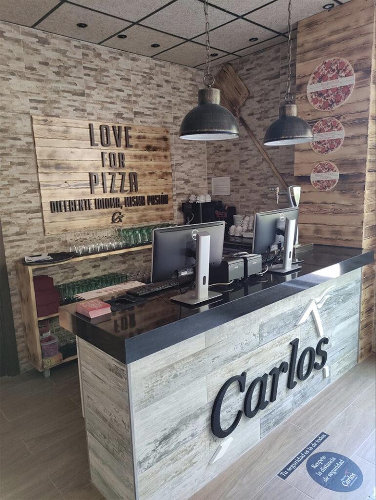 Pizzería Carlos aperturas noticias retail