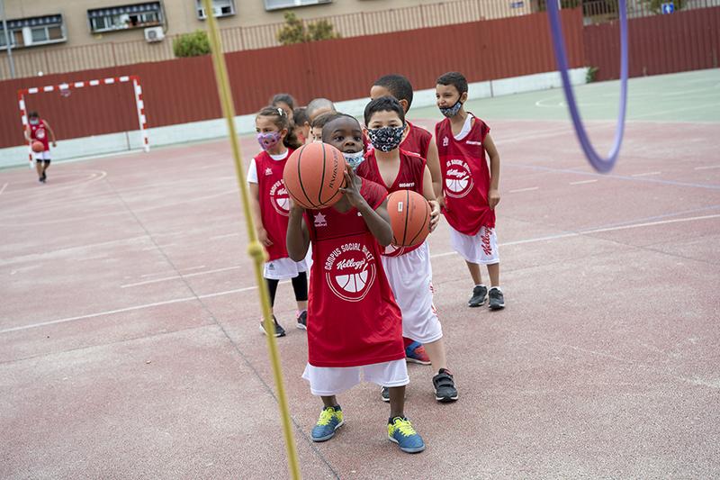 Primer Campus Social Basket Kellogg's menores riesgo exclusión social noticias retail