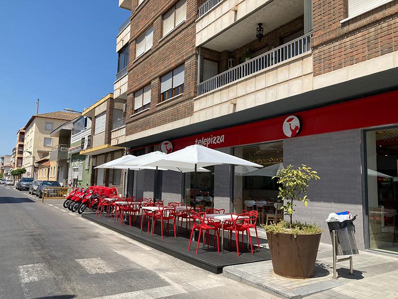 Telepizza apertura Almoradí Alicante noticias retail