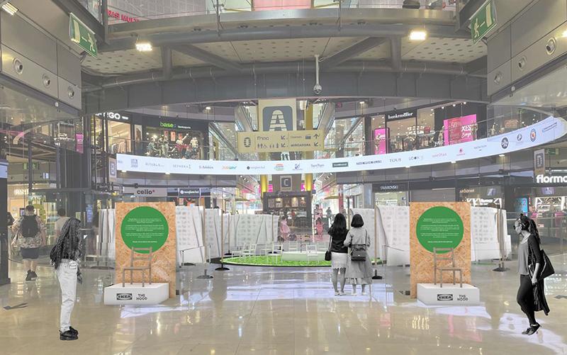 The Hood Ikea Elisava Circular Chair Arenas de Barcelona noticias retail