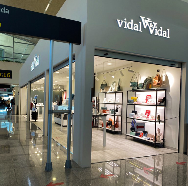 Vidal & Vidal apertura Menorca aeropuerto noticias retail
