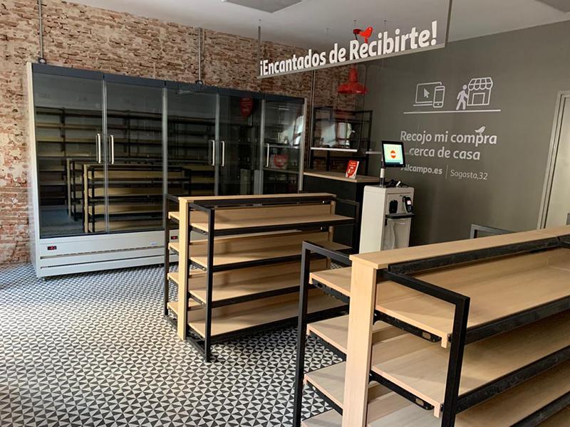Alcampo punto recogida Madrid noticias retail