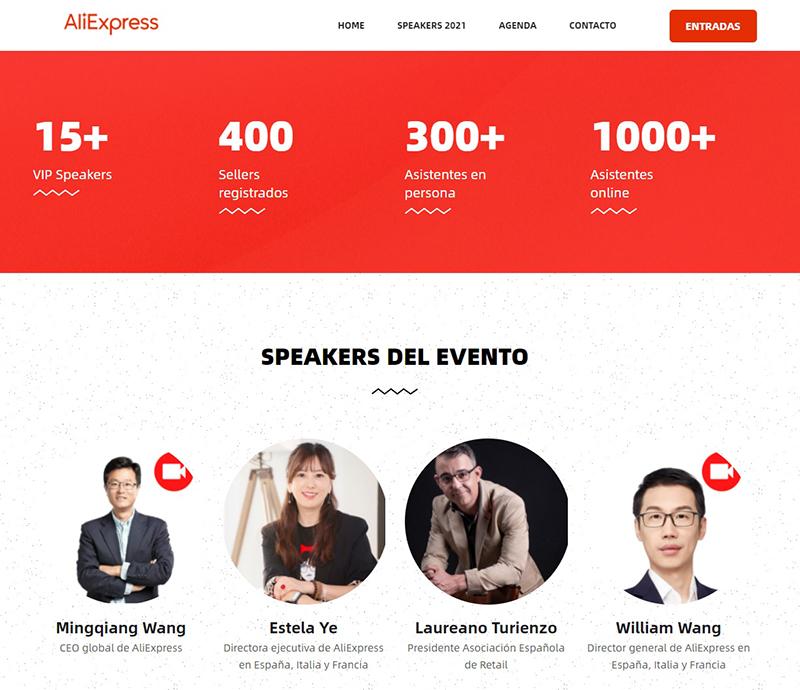 Aliexpress evento vendedores noticias retail
