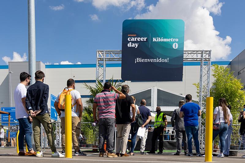 Amazon Carrer Day 30000 personas España empleo orientación noticias retail