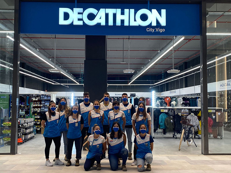 Decathlon City Vigo apertura Vialia deporte noticias retail