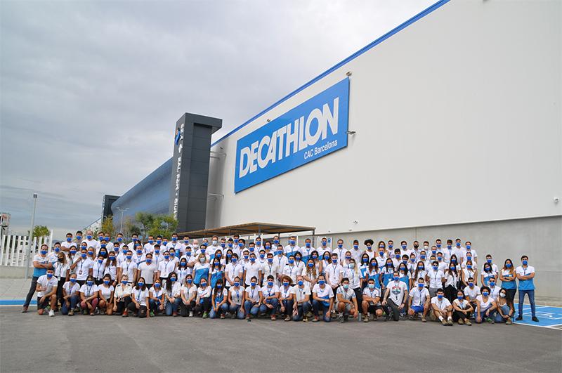 Decathlon centro logístico continental Barcelona estándar LEED categoría Platinum certificación sostenibilidad noticias retail
