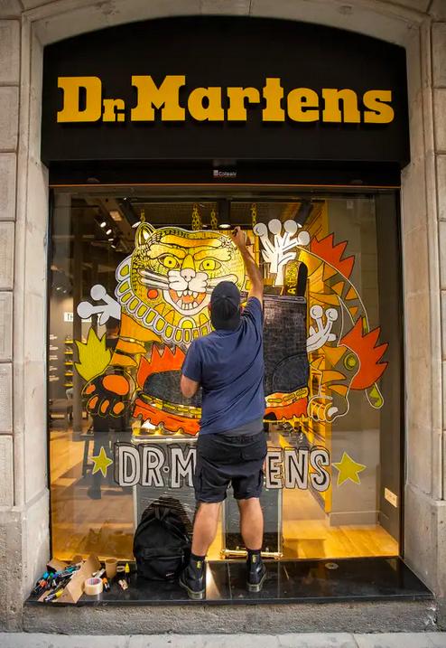 Dr. Martens Barcelona noticias retail