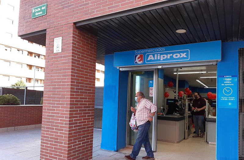 Eroski Aliprox franquicia apertura Seseña Toledo supermercado noticias retail