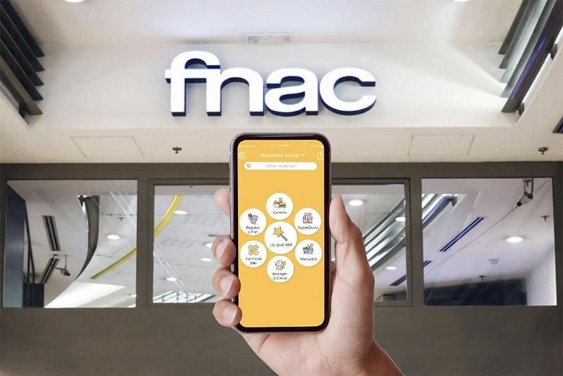FNAC Glovo acuerdo canal venta online noticias retail
