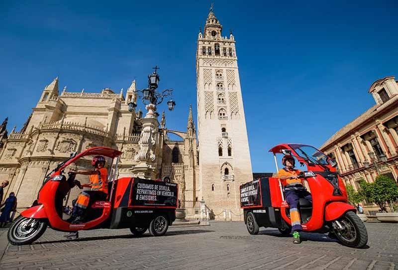 Heineken proyecto piloto Sevilla ultima milla sostenibilidad noticias retail
