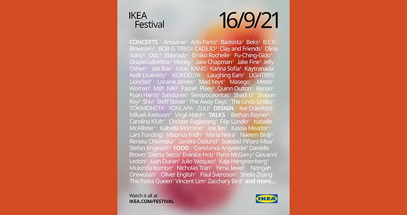 Ikea Festival evento musica hogar noticias retail