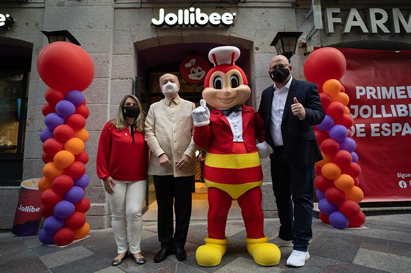 Jollibee Madrid España embajador Filipinas noticias retail