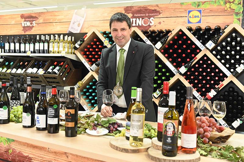 Jon Andoni Rementeria vinos premium Lidl noticias retail