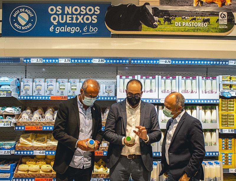 Lidl primera tienda O Val Minor noticias retail
