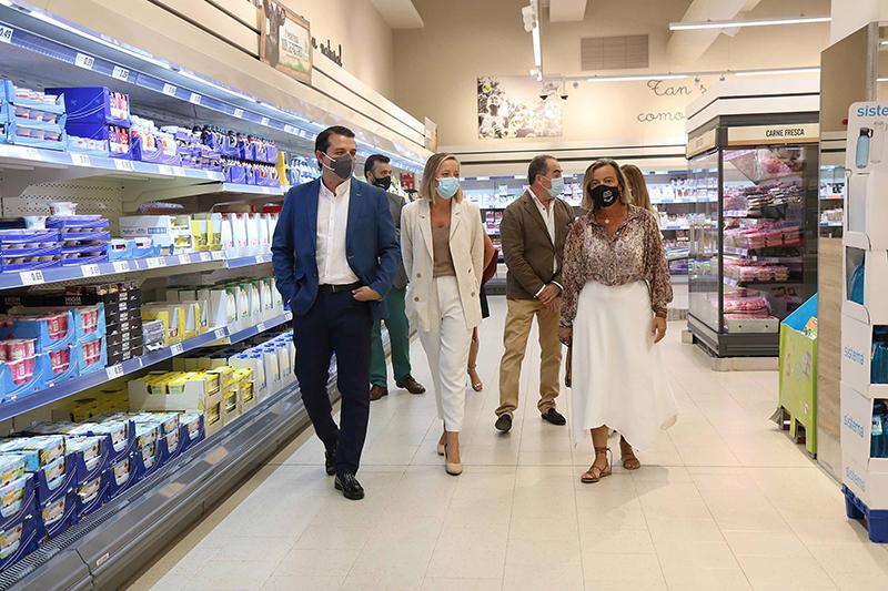 Lidl visita alcalde de Córdoba José María Bellido nuevo centro noticias retail