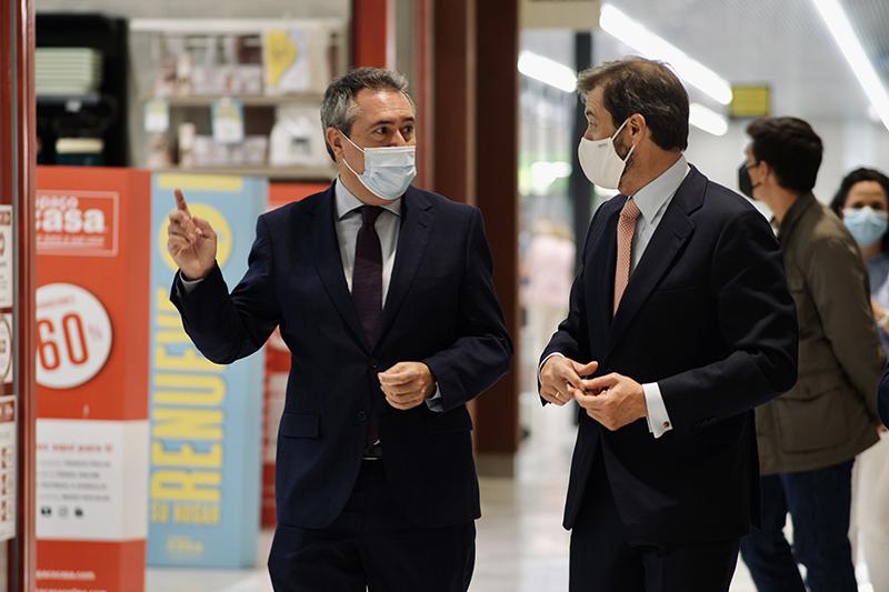 Los Arcos Castellana Properties visita alcalde Sevilla ampliacion noticias retail