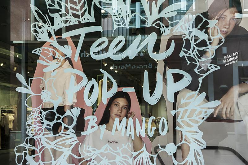 Mango tiendas pop-up línea teen apertura Granada Marbella Mallorca noticias retail