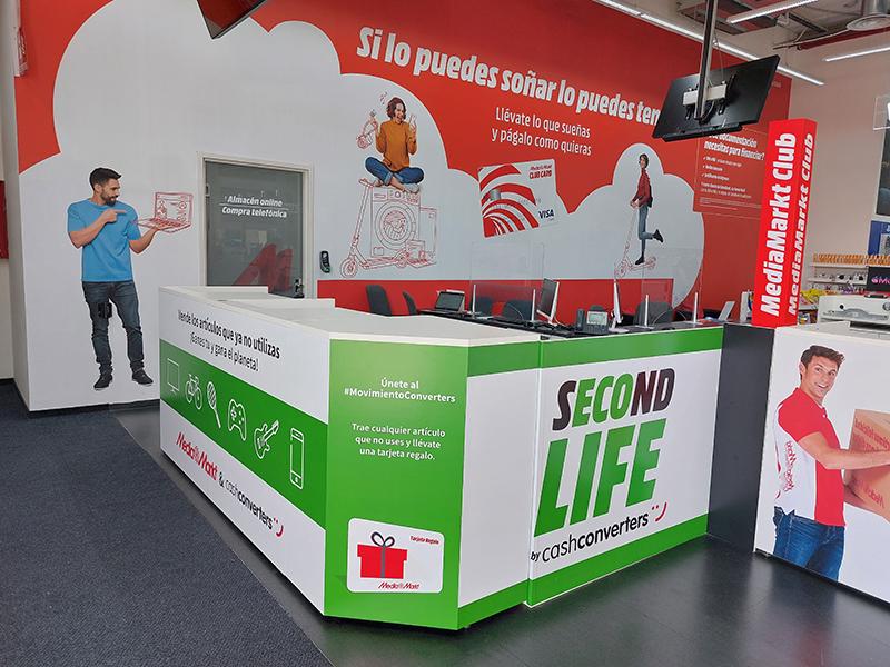 MediaMarkt Cash Converters second life noticias retail