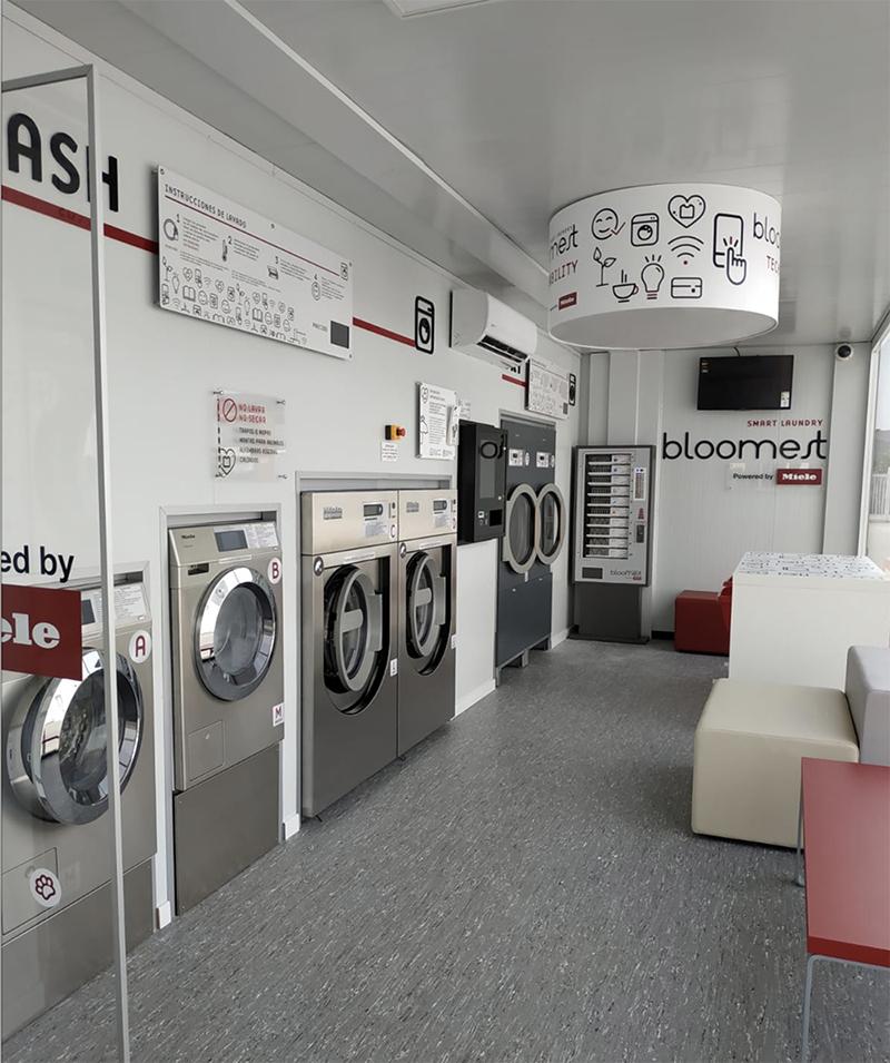 Miele lavanderias autoservicio Bloomest apertura estaciones servicio Repsol noticias retail