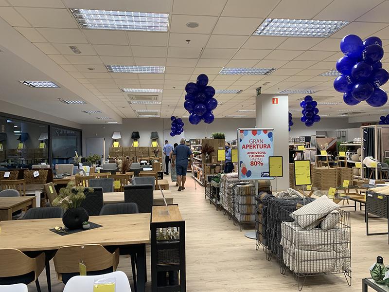 N4 centro comercial JYSK hogar apertura noticias retail