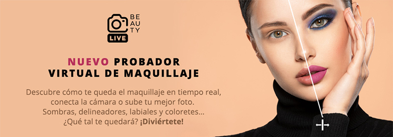 Perfumes club probador virtual maquillaje tecnologia modiface noticias retail