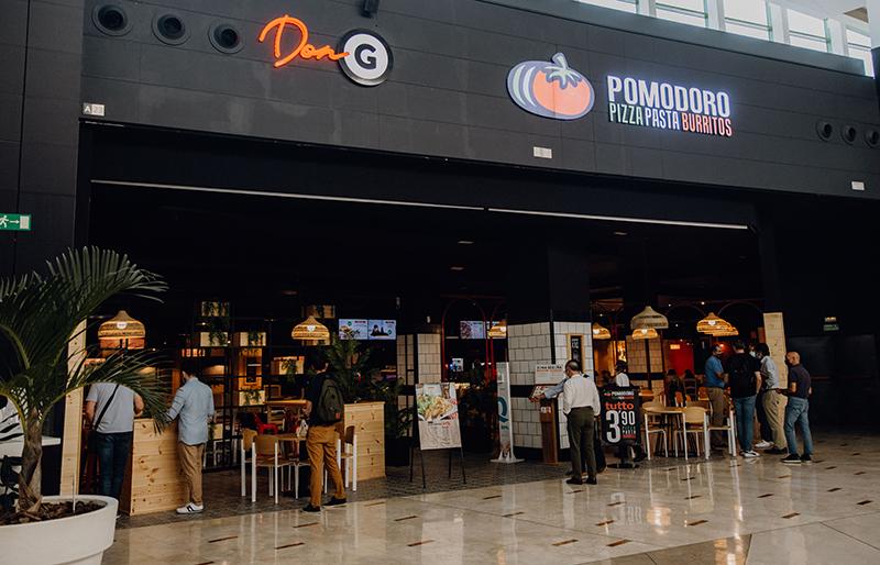 Pomodoro apertura Nueva Condomina restauración comida italiana noticias retail