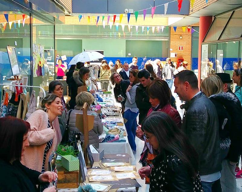 Porches del Audiorama mercado tradicional artesania diseño gourmet noticias retail