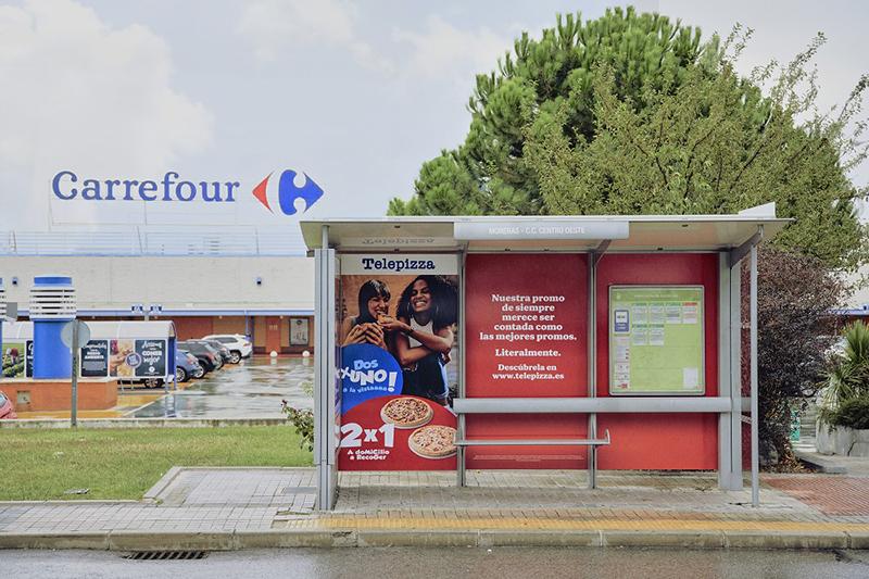 Telepizza promociones Carrefour noticias retail