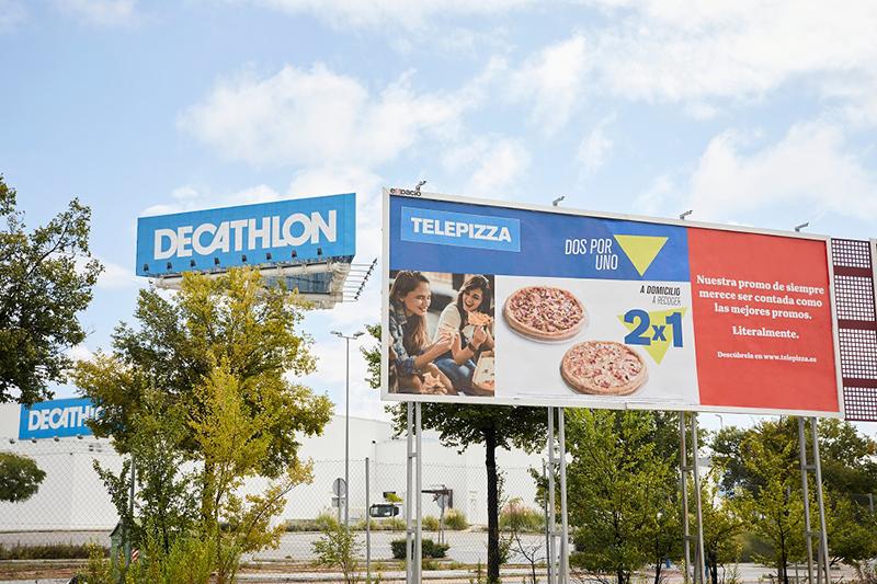 Telepizza promociones Decathlon noticias retail