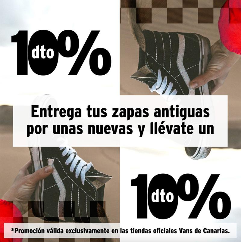 Vans Renovans Canarias plan renove calzado noticias retail