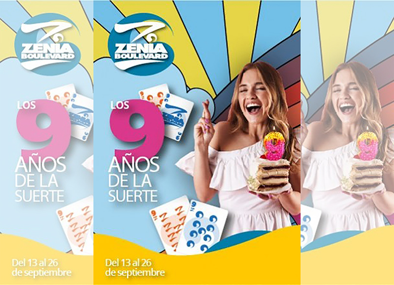 Zenia Boulevard Nhood noveno aniversario celebración noticias retail