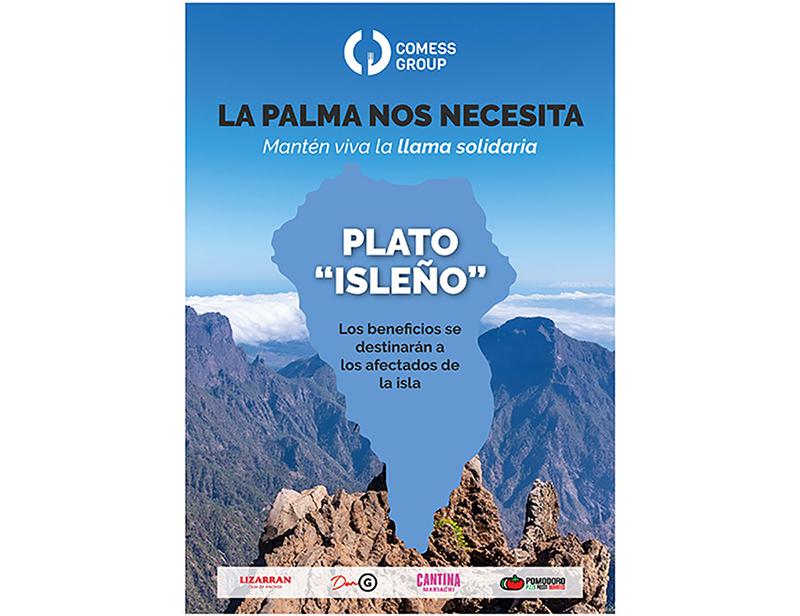 Comess Group apoyo La Palma restauración noticias retail