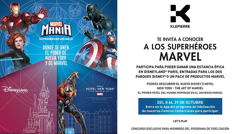 Klépierre app fidelización campaña Disney noticias retail