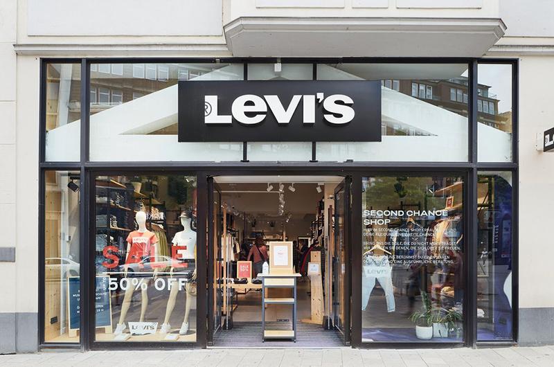 Levi's tiendas segunda mano Hamburgo noticias retail